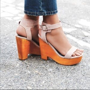 Jeffrey Campbell X Free People Wedges